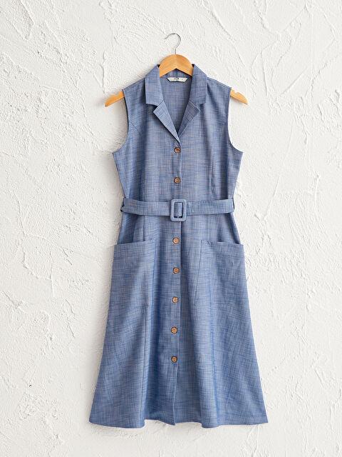 Kuşaklı Gömlek Elbise - LC WAIKIKI