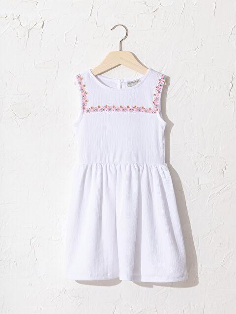 Kız Çocuk Baskılı Elbise - LC WAIKIKI