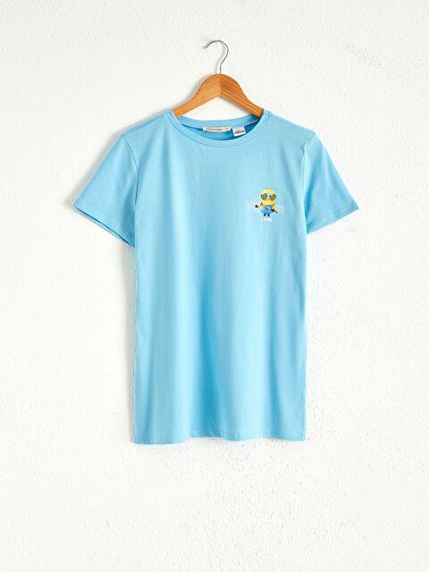 Minions Baskılı Pamuklu Tişört - LC WAIKIKI