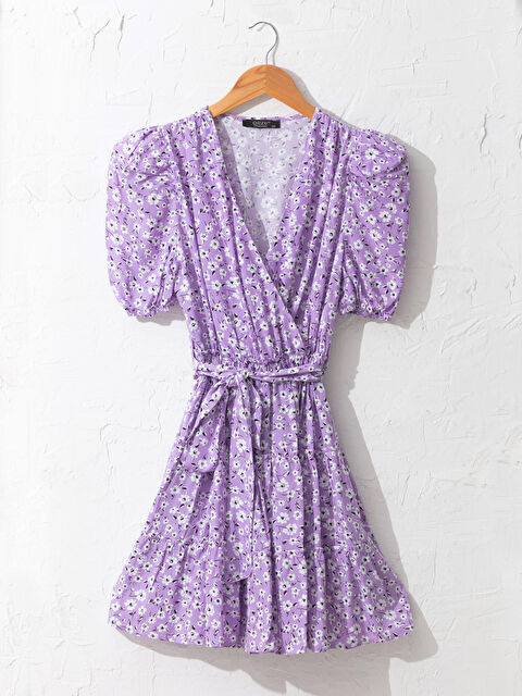 Quzu Kruvaze Yaka Elbise - Markalar