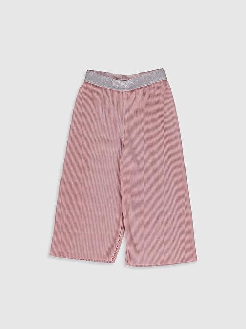 Kız Çocuk Pileli Pantolon - LC WAIKIKI