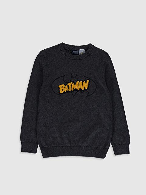 Erkek Çocuk Batman İnce Triko Kazak - LC WAIKIKI