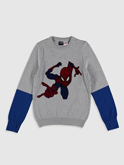 Erkek Çocuk Spiderman İnce Triko Kazak - LC WAIKIKI