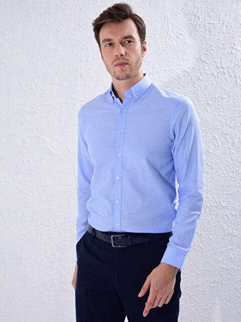 Slim Fit Oxford Gömlek - LC WAIKIKI