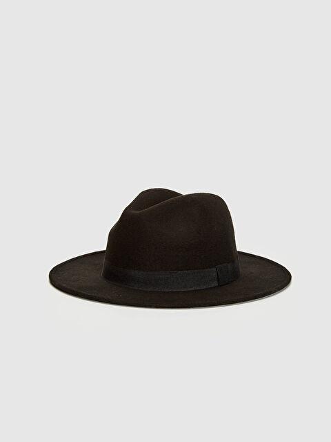 Biye Detaylı Fötr Şapka - LC WAIKIKI