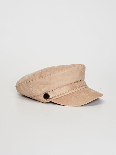 Süet Denizci Şapka - LC WAIKIKI