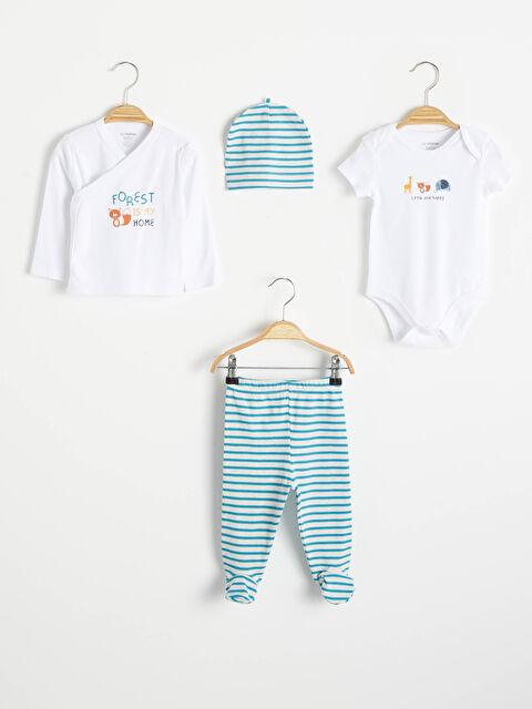 Erkek Bebek Hastane Çıkış Seti - LC WAIKIKI