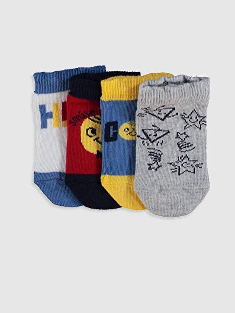 Erkek Bebek Patik Çorap 4'lü - LC WAIKIKI