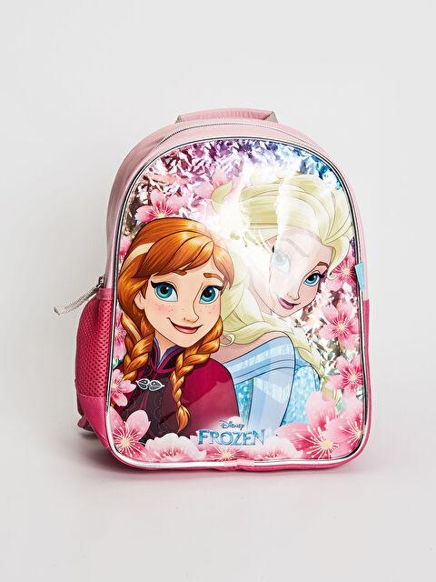 Kız Çocuk Frozen Lisanslı Sırt Çantası - LC WAIKIKI