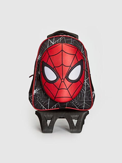 Erkek Çocuk Spiderman Lisanslı Çekçekli Çanta - LC WAIKIKI