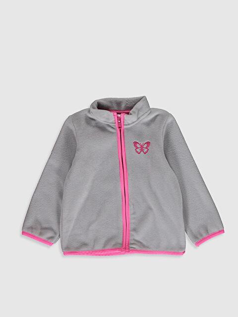 Kız Bebek Fermuarlı Sweatshirt - LC WAIKIKI
