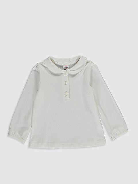 Kız Bebek Pamuklu Basic Tişört - LC WAIKIKI