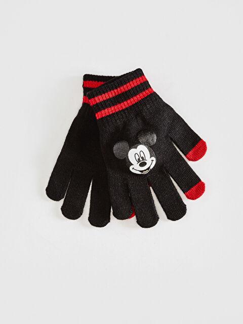 Erkek Çocuk Mickey Mouse Lisanslı Eldiven - LC WAIKIKI