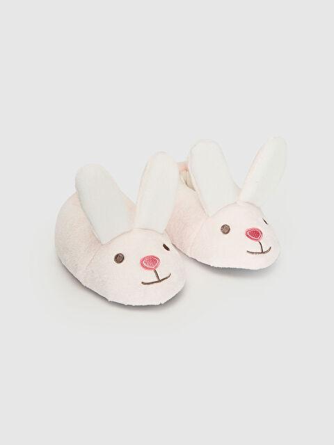 Kadın Tavşan Silüetli Pelüş Ev Botu - LC WAIKIKI