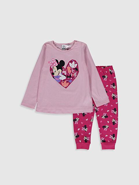 Kız Bebek Minnie Mouse Baskılı Pijama Takımı - LC WAIKIKI