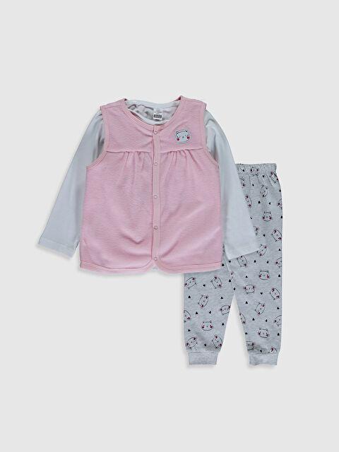 Kız Bebek Pijama Takımı - LC WAIKIKI