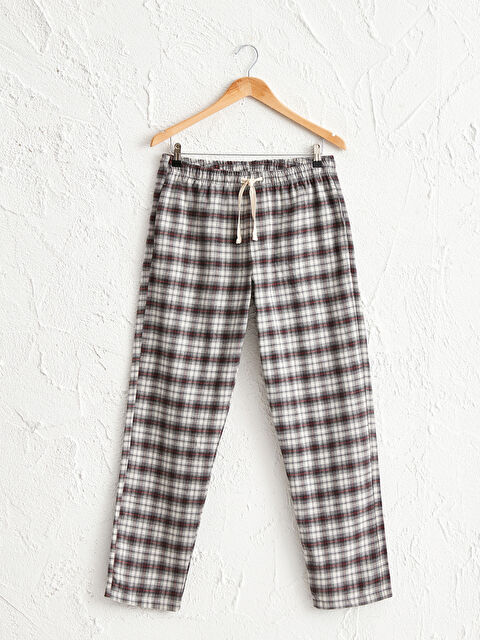 Standart Kalıp Ekose Pamuklu Pijama Alt - LC WAIKIKI