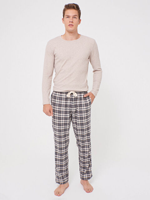 Standart Kalıp Pamuklu Pijama Takımı - LC WAIKIKI