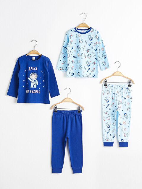 Baskılı Süprem Pijama Takımı - LC WAIKIKI