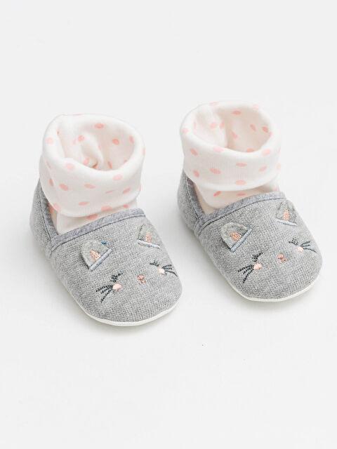 Kız Bebek Çoraplı Ev Ayakkabısı - LC WAIKIKI