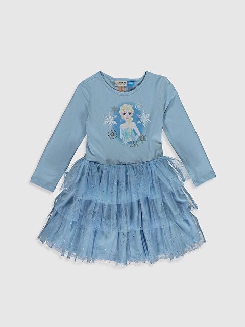Kız Çocuk Elsa Elbise - LC WAIKIKI