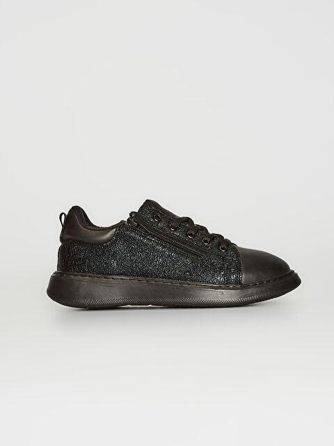 Kız Çocuk Simli Sneaker - LC WAIKIKI