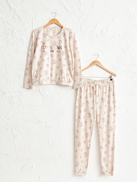 Baskılı Pijama Takımı - LC WAIKIKI