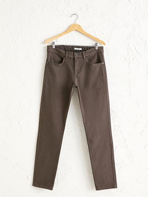 Slim Fit Gabardin Pantolon - LC WAIKIKI