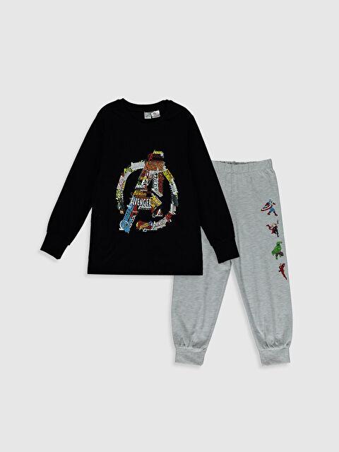 Erkek Çocuk Avengers Baskılı Pijama Takımı - LC WAIKIKI