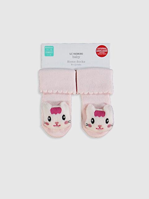 Kız Bebek Ev Çorabı - LC WAIKIKI