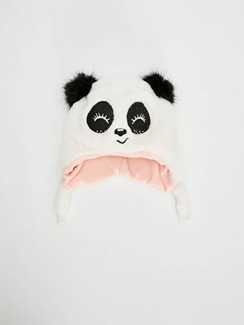 Kız Çocuk Sevimli Yüz Detaylı Şapka - LC WAIKIKI