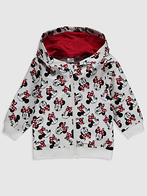 Kız Bebek Minnie Mouse Desenli Sweatshirt - LC WAIKIKI