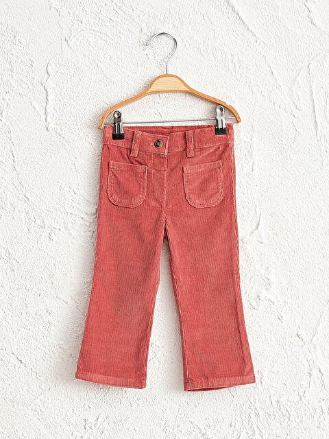 Kız Bebek Kadife Pantolon - LC WAIKIKI