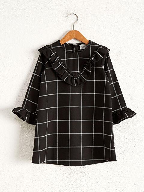 Girl's Ruffled Dress - LC WAIKIKI