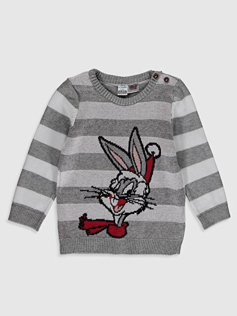 Erkek Bebek Bugs Bunny Desenli Kazak - LC WAIKIKI
