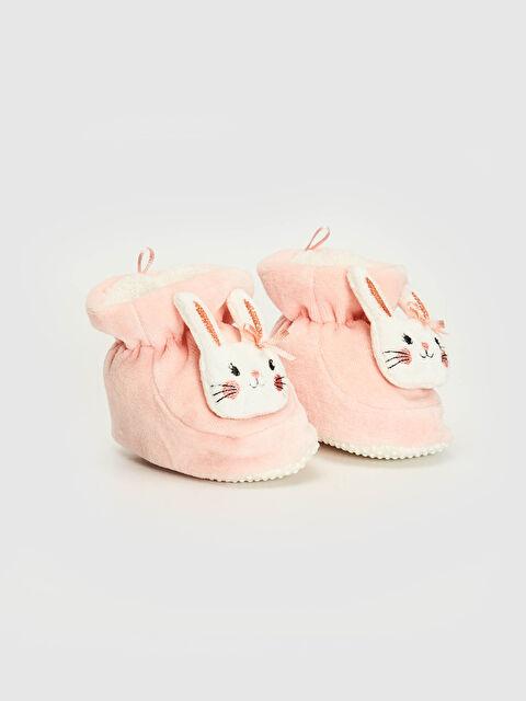 Kız Bebek Yürümeyen Pelüş Ayakkabı - LC WAIKIKI