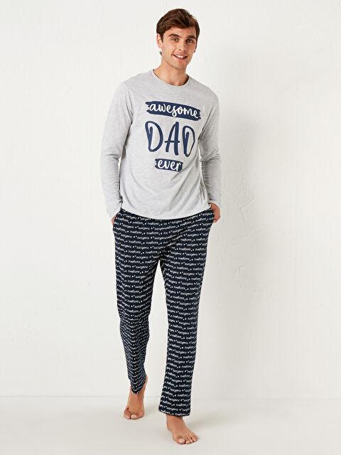 Aile Koleksiyonu Standart Kalıp Pamuklu Pijama Takım - LC WAIKIKI