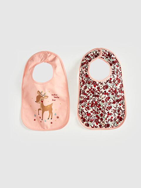 Kız Bebek Mama Önlüğü 2'li - LC WAIKIKI