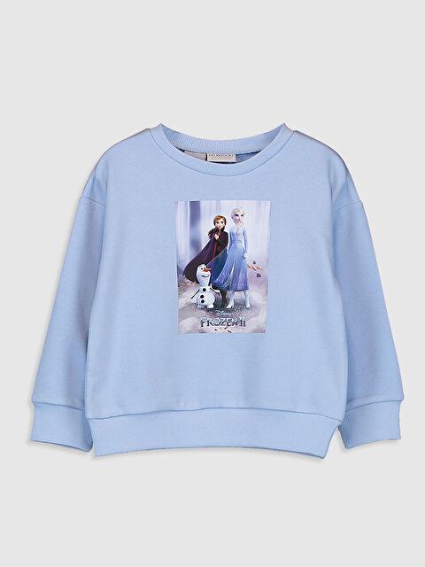 Kız Çocuk Frozen Baskılı Sweatshirt - LC WAIKIKI