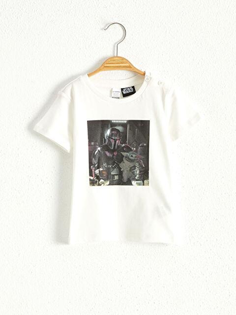Erkek Bebek Star Wars Baskılı Tişört - LC WAIKIKI