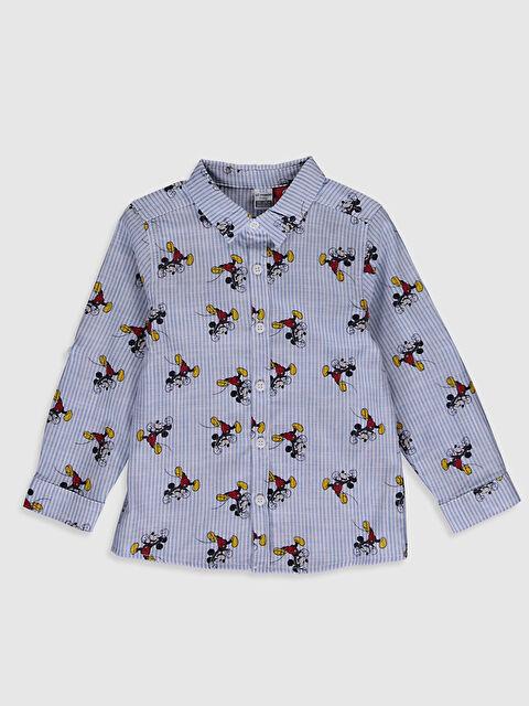Erkek Bebek Mickey Mouse Baskılı Gömlek - LC WAIKIKI