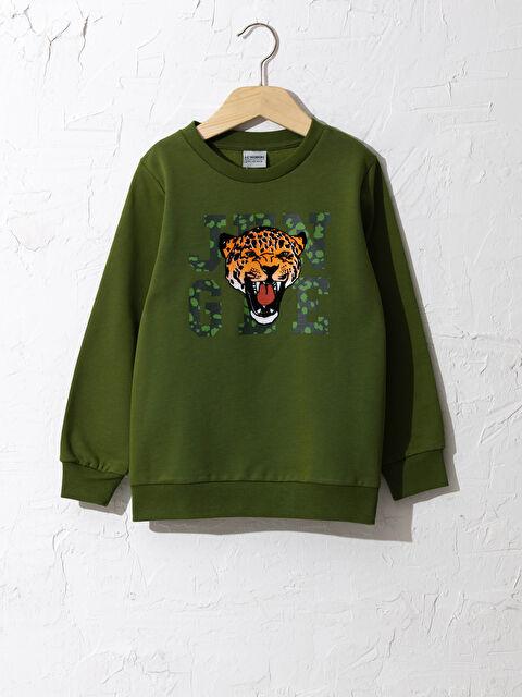 Erkek Çocuk Baskılı Sweatshirt - LC WAIKIKI