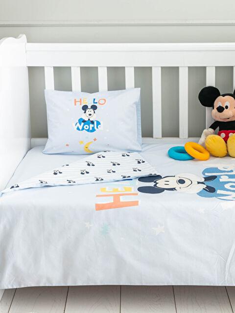 Erkek Bebek Mickey Mouse Lisanslı Nevresim Takımı - LCW HOME
