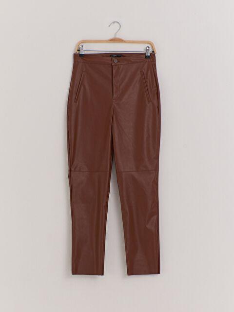 Deri Görünümlü Pantolon - LC WAIKIKI