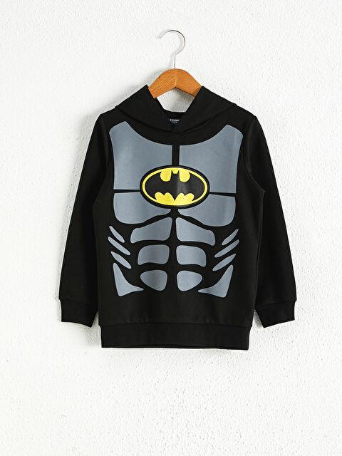 Erkek Çocuk Batman Sweatshirt - LC WAIKIKI
