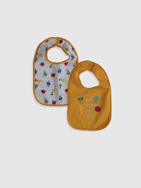 Erkek Bebek Baskılı Mama Önlüğü 2'li - LC WAIKIKI