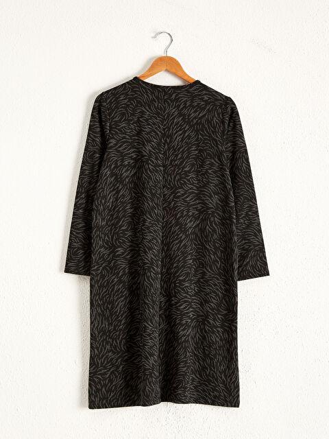 Desenli Düz Kesim Elbise - LC WAIKIKI