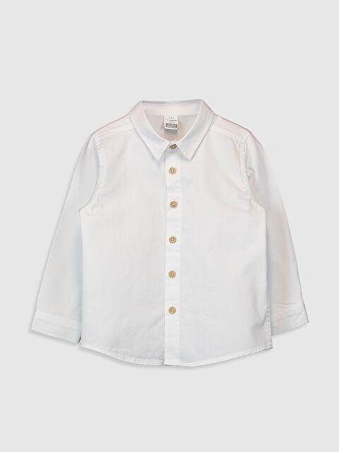 Erkek Bebek Gabardin Gömlek - LC WAIKIKI
