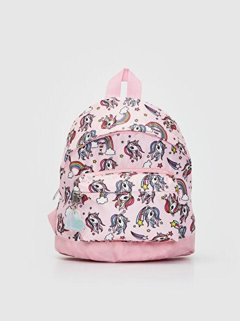 Kız Çocuk Unicorn Baskılı Sırt Çantası - LC WAIKIKI