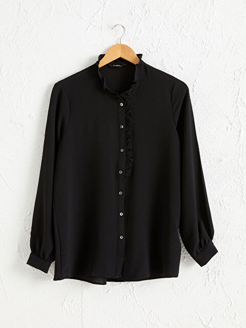 Fırfırlı Şifon Gömlek - LC WAIKIKI
